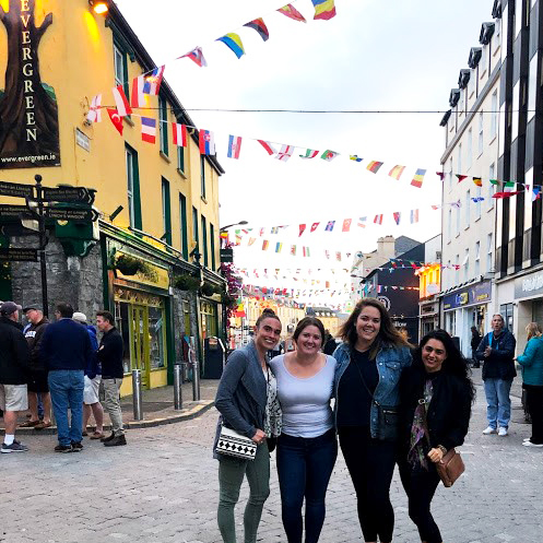 Students in Galway