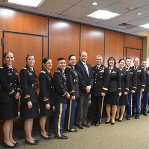Army Court of Criminal Appeals Visit Offers Unique Glimpse into Military Law Careers